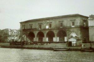 L'Arsenale della Real Marina in una foto del 1908.