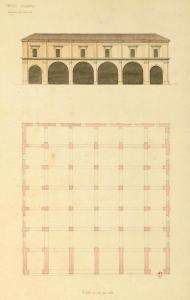 Palermo - Magazzini dell' Arsenale da Voyage en Italie et Sicile 1831- 1832 C-A Questel