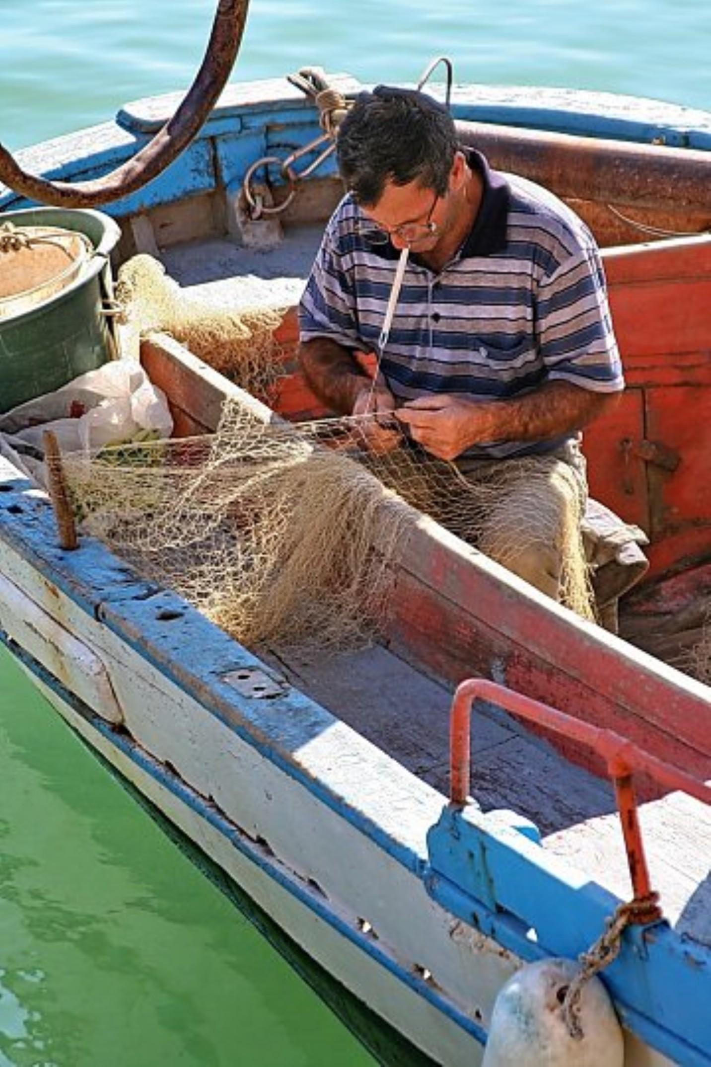 La marina mercantile associazione culturale museo del for Rete da pesca arredamento